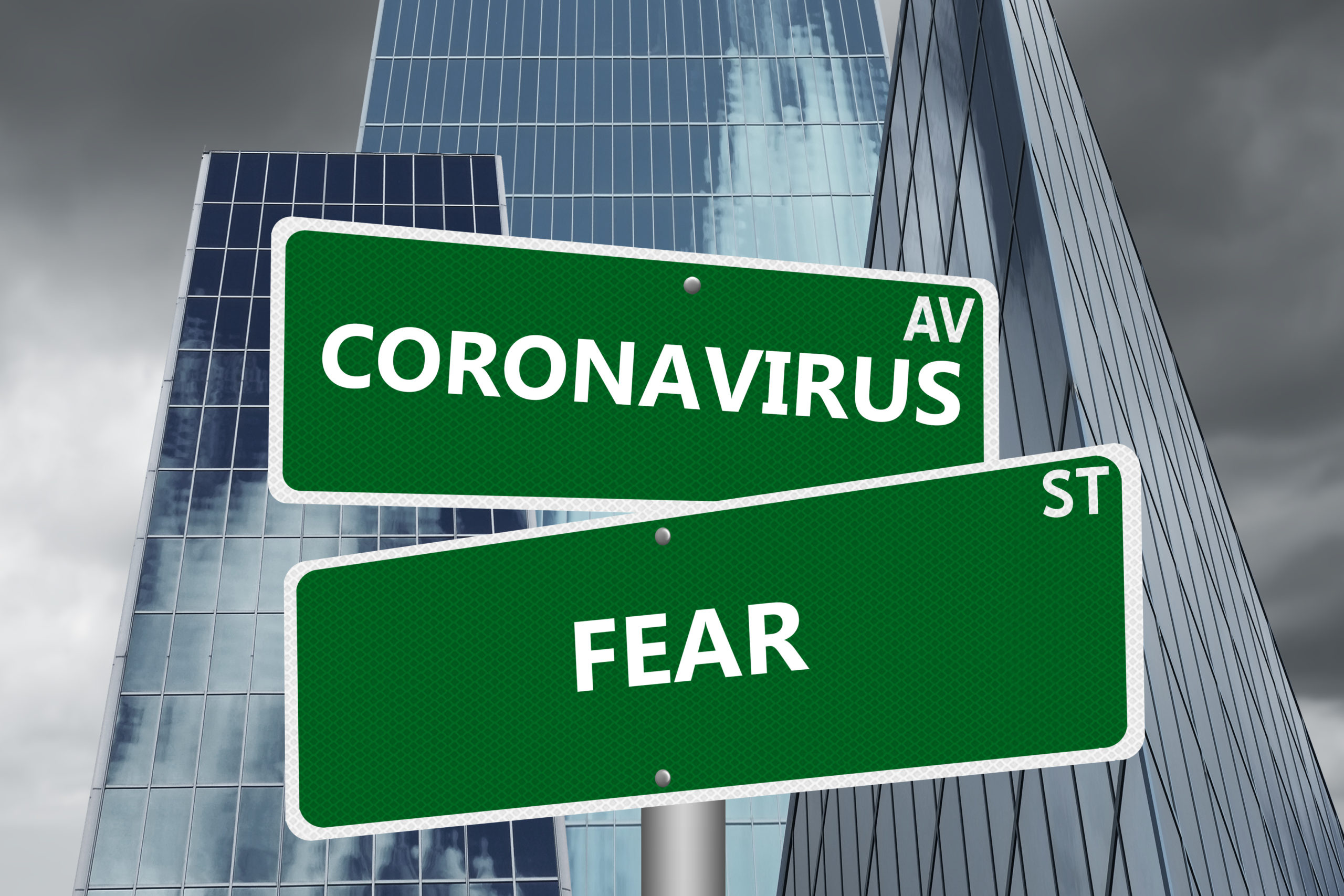 Coronavirus Av & Fear St Signs